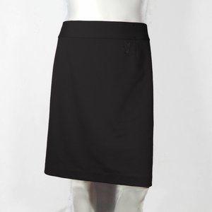 NWOT Black Knee Length Skirt by Lane Bryant